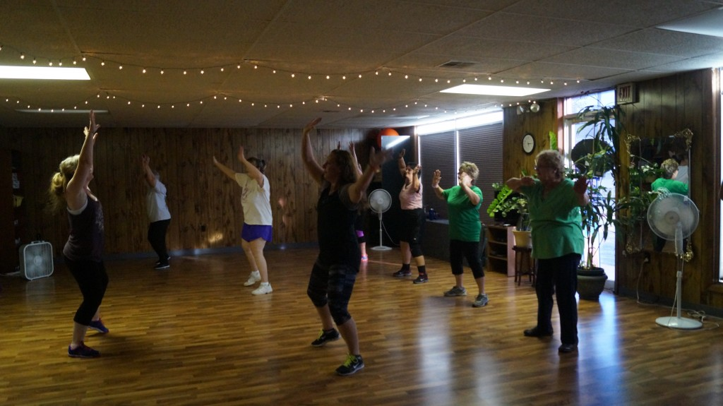 Zumba! Great fun!