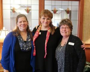 Donna Hirner Gardner, Michelle Sparks, Linda Fisher
